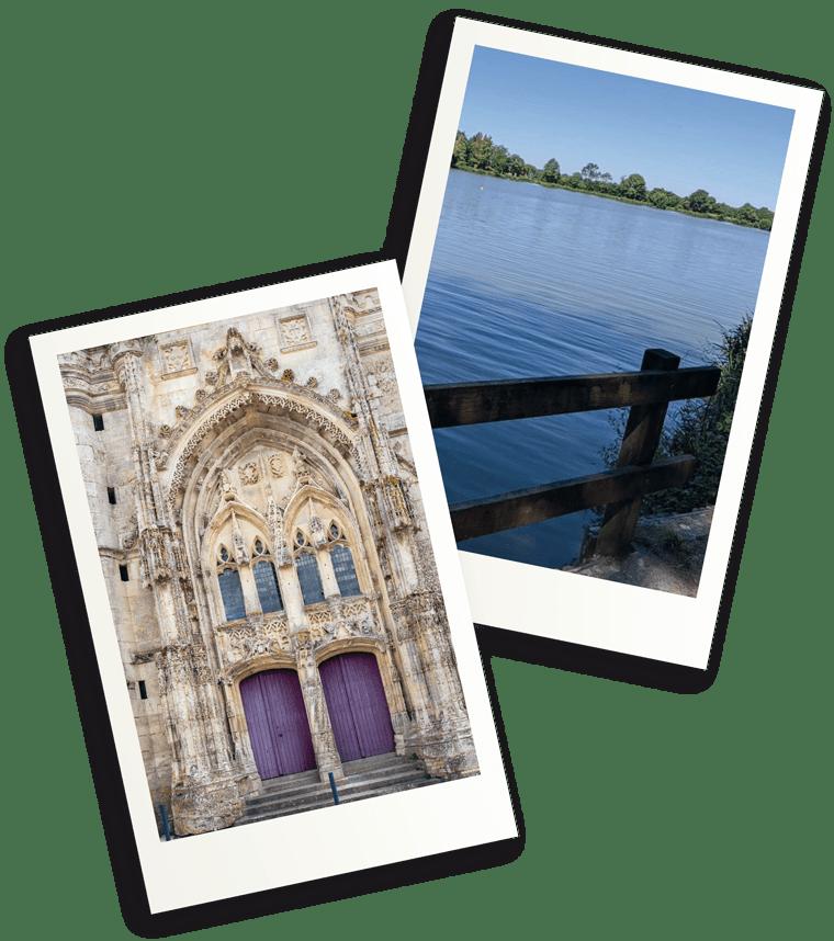 Saint-Marc la Lande et baignade au lac de Verruyes