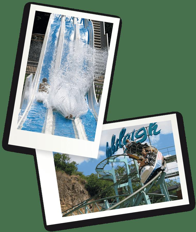 Bobsleigh et parc à thème