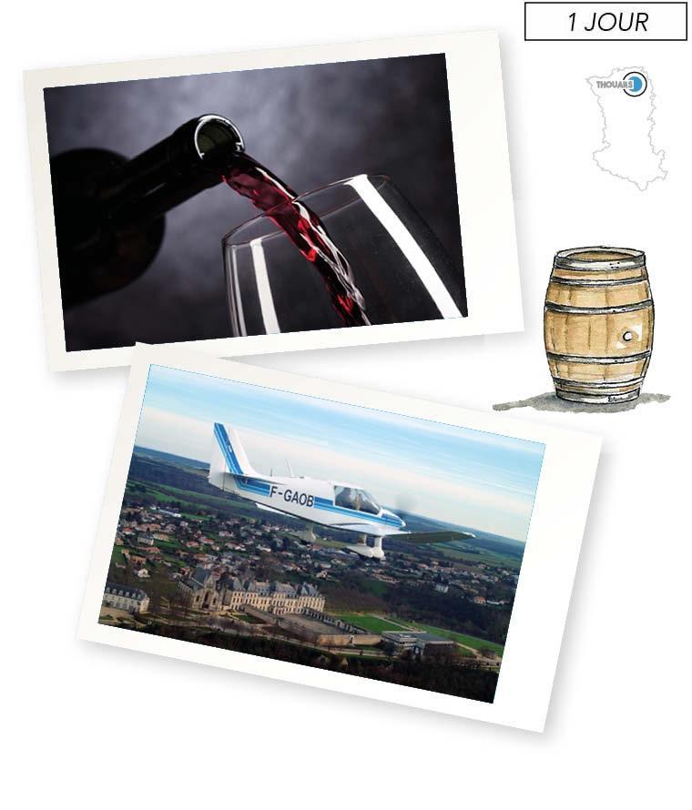 escapade aéro-viticole