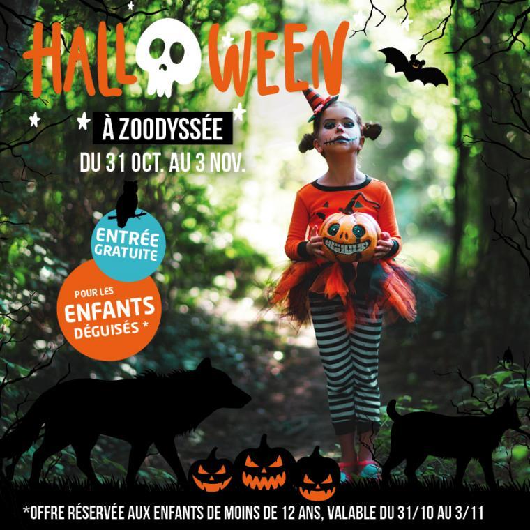 Halloween à Zoodyssée