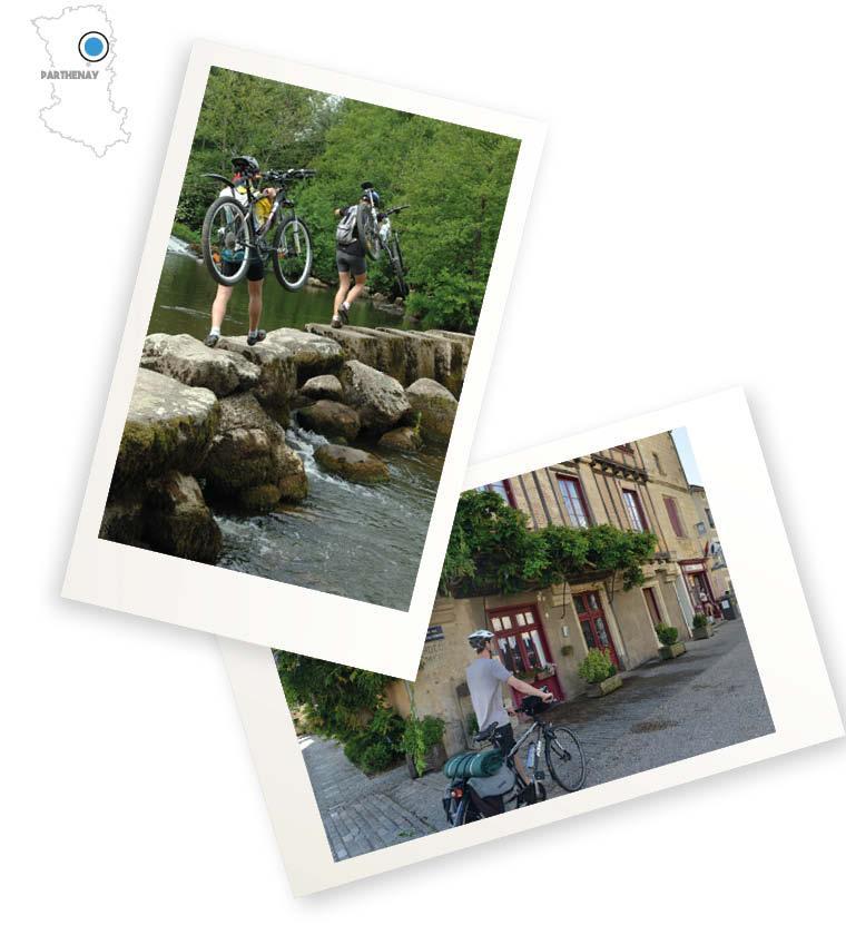 Week-end escapade du Thouet à vélo