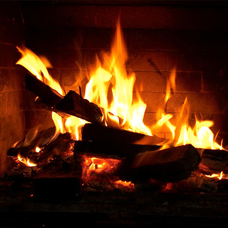 Chambre d'hôtes avec cheminée