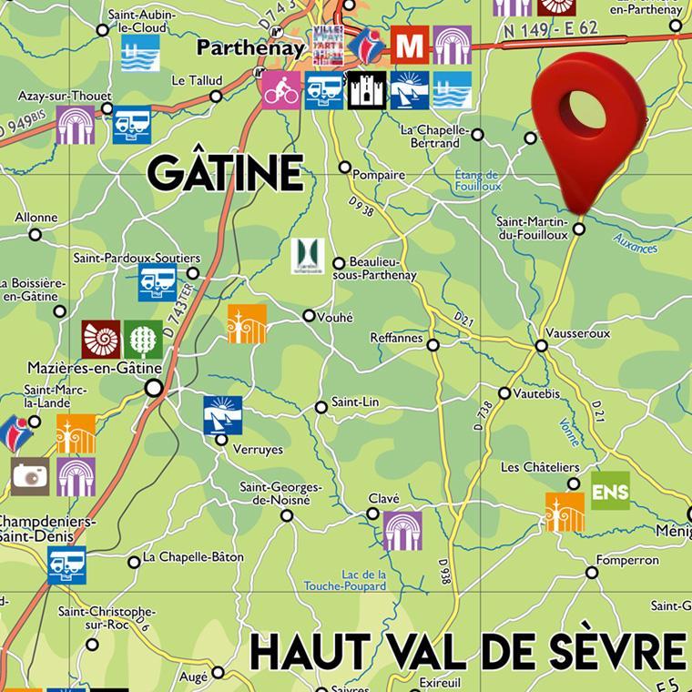 SIT : Informations touristiques en Deux-Sèvres