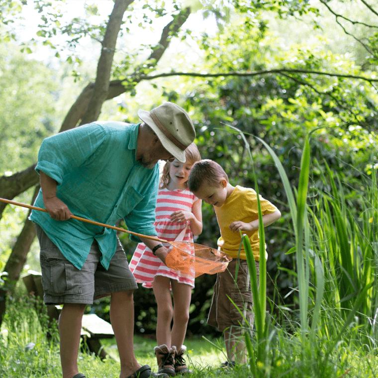 Escapades Nature avec les enfants : peche