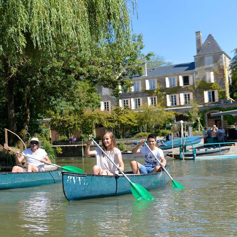 Week-end entre amis dans le Marais poitevin