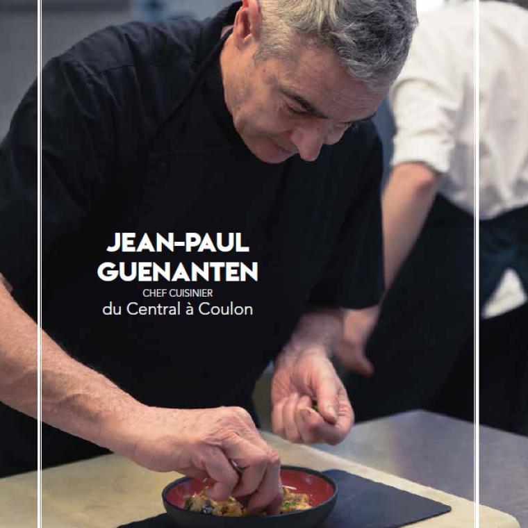 Jean-Paul Guenanten, chef cuisinier au Central, à Coulon