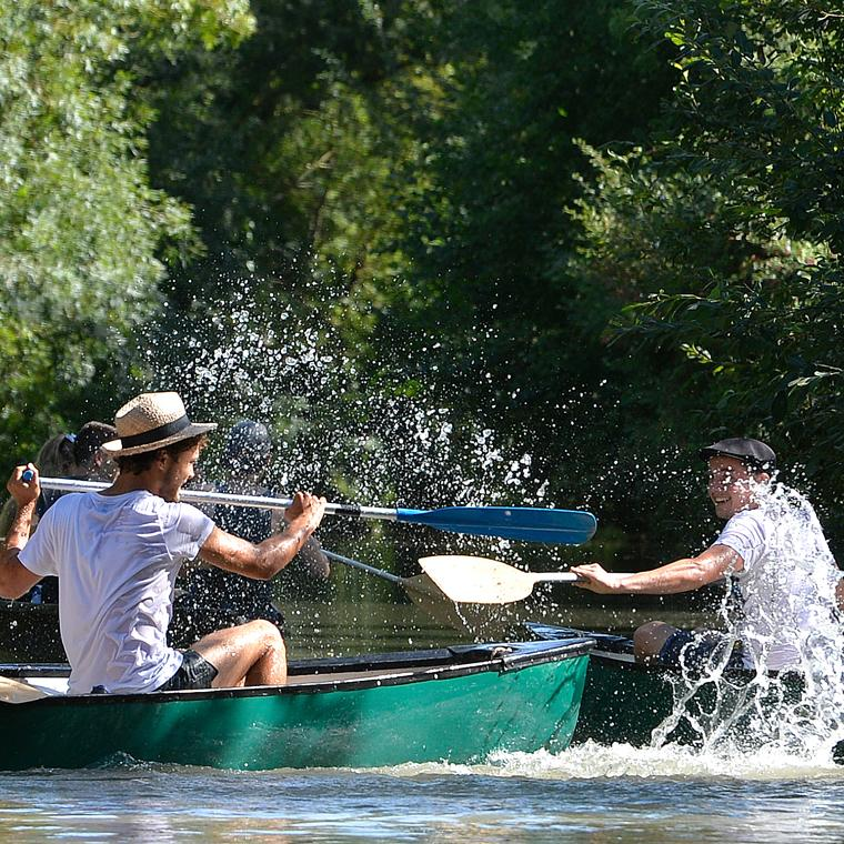 Rallye en barque
